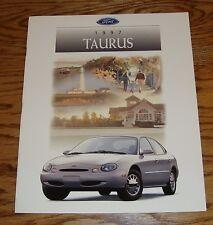 Original 1997 Ford Taurus Sales Brochure 97 G GL LX SHO