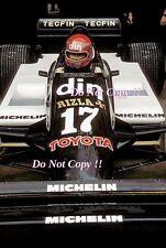 Eliseo Salazar marzo 811 San Marino Grand Prix 1981 fotografía 2