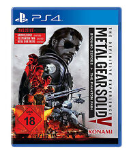 Ps4 Metal Gear Solid 5 the definitive experience 3 giochi + tutte DLCS NUOVO ps4