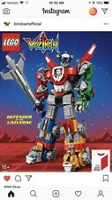 Lego Ideas 21311 Voltron Defender Of The Universe Nib Sealed Confirmed Order!