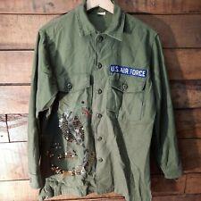 More details for shirt,man's, cotton sateen, og-107 dsa100-69-c-0134 guy h. james ind cobra logo