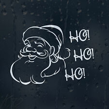 Merry Christmas Santa Claus Ho ho Ho Car Decal Vinyl Sticker For Bumper Window