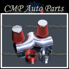 RED 1997-2000 CHEVY CORVETTE C5 5.7L V8 DUAL TWIN AIR INTAKE SYSTEMS