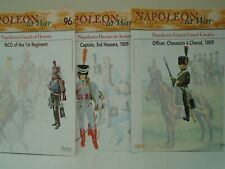 Del Prado 'Napoleon at War' Magazines x 3: French Cavalry