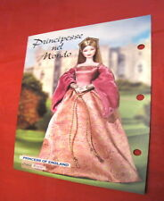 Barbie B Collector 2004 Paper 17x24 cm da collezione Princess of England B3459