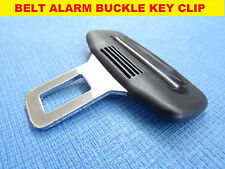 FIAT 500 BLACK SEAT BELT ALARM BUCKLE KEY CLIP SAFETY CLASP STOP *UK SELLER*