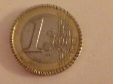 1 EURO ITALIE 2002 CANNELE ET FAUTEE