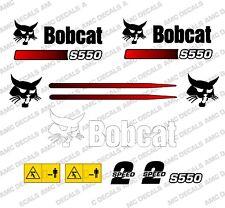 BOBCAT S550 Minipala Set Decalcomania Adesivi