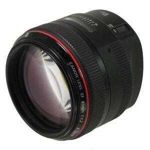 Canon EF 85mm f/1.2 L II USM Lens *NO RESERVE*