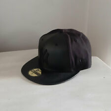 New York Yankees 59FIFTY PU MLB Fitted Baseball Cap - size 7 1/4