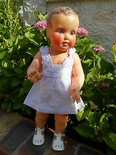 joli robe  bébé 3 mois ou poupée reborn,baigneur55cm