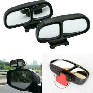 Blind Spot Mirror Car Wide Angle Side Mirror Rear Wiew Dual Glass Self-adhesive