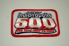 1988 72nd Indy Indianapolis 500 Race Car Racing Cloth Jacket Patch New NOS