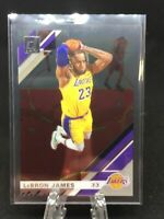 2019-20 Panini Clearly Donruss Lebron James Base #20 SP Los Angeles Lakers