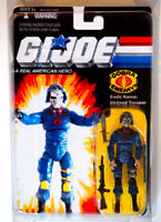 GI JOE 2016 Custom Carded Cobra ZOMBIE Soldier 3.75 Action Figure MOC MIP