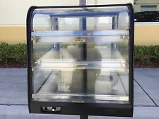 """Federal CH2428SS 24"""" Self-Service Countertop Heated Display Case w/ Curved Glass"""