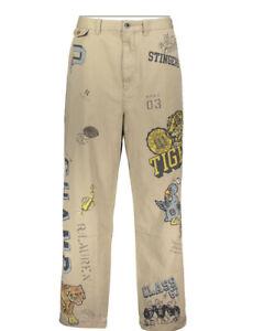 Ralph Lauren Chino Cp   Polo  bottoms trousers pants 42 L graffiti Tiger XXL