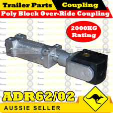 Superior Poly Block Over-Ride Coupling - 2T Rating ADR62/02 - Trailer
