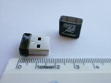 Mini Kartenleser USB 2.0 Cardreader Adapter Micro SD/SDHC/SDXC Karte zu USBStick