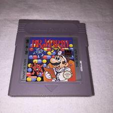 Dr. Mario (Nintendo GameBoy) GB Game Cartridge Vr Nice!