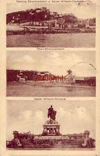 GERMANY. FESTUNG EHRENBREITSTEIN u. KAISER WILHELM-DENKMAL, RHEIN 1922