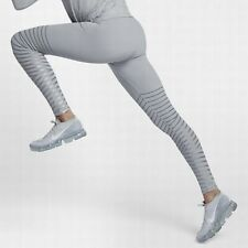 Nike Epic Lux Flash Women's Reflective Running Tights 856680-012 Grey Size S New