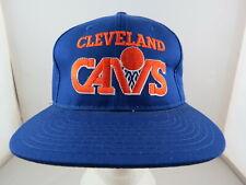 Cleveland Cavaliers Hat (VTG) - Wordmark logo by Starter - Adult Snapback