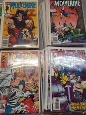 X-men Comic filler wolverine 5-9 10 11-15 24-31 38-74 76-79 86 87 89-93 81-83  n