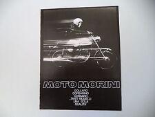 advertising Pubblicità 1972 MOTO MORINI CORSARO 125