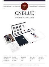 [CNBLUE] 2016 SEASON'S GREETINGS Calendar+Diary+DVD+Postcard+Sticker SEALED