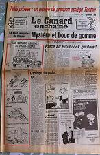 Le Canard Enchainé 2/01/1985; TV privées; un groupe de presion assiège Tonton