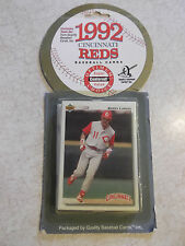 1992 Cincinnati Reds Baseball Cards Exclusive Team Set Quality Baseball Cards In