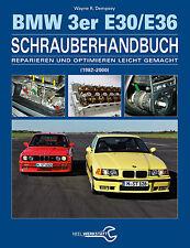 BMW 3er E30 E36 Cabrio Schrauber-Handbuch Reparaturanleitung Reparaturbuch Buch