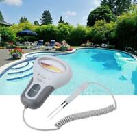 New 2in1 Water Quality PH/CL2 Chlorine Tester Level Meters For Swimming Pool Spa
