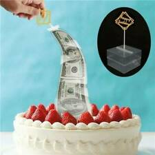 Cake ATM Happy Birthday Cake Topper Money Box Funny Cake ATM Happy Birthday HOT
