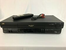 New ListingJvc Hr-S5901U Super Vhs Plug & Play Vcr+, w/ Remote Control + av cable - Tested