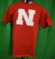 Majestic Section 101 Mens NCAA Nebraska Huskers Shirt NWT L