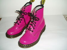 DR MARTENS PINK LACE UP BOOTS SIZE UK 3 EURO 36