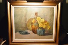 GENEVIEVE GOTH GRAF O/C STILL LIFE PAINTING NOTED INDIANA ARTIST BROWN COUNTY