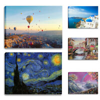 Canvas Prints Wall Art Abstract Framed Pictures Painting Living Room Home Decor