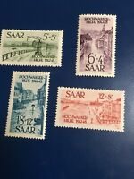 Germany #861-64 Stamps Office Saar #B61-64 Mnh CV $162