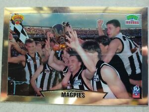 1997 Collectible Collingwood Magpies Postcard (Tatts Promotion)