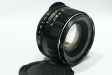 Asahi Pentax 55mm 1:2 Super Takumar M42 camera lens Exc, fit M42 camera mount