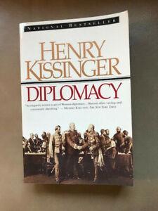 SIGNED ~ Diplomacy by Henry Kissinger (1994) 1st Printing