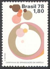 Brazil 1978 Smallpox Eradication/Medical/Health/Welfare/Science 1v (n41706)