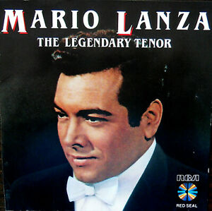 MARIO LANZA CD ,,THE LEGENDARY TENOR'' 19 SUPER AUFNAHMEN VON 1949-1959 ON CD 19