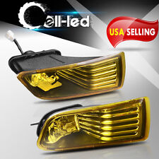 for 2005-2010 Scion TC Yellow Fog Lights Front Bumper Lamps+Switch+Wiring PAIR