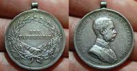 pci5839) AUSTRIA Medaglia Franz Joseph I DER TAPFERKEIT Argento   ø= 32 mm