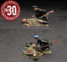Figarti Pewter Ww2 Russian Efr-017 Russian Soldier & Dead German Mib