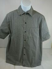 Nwt Chef Works Button Up Shirt size M